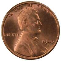 1945 S Lincoln Wheat Cent BU Uncirculated Mint State Bronze Penny 1c Coin