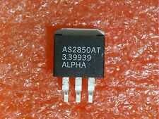 10 PCS ALPHA SEMICON AS2850AT 5A LOW DROP-OUT ADJ VOLTAGE REGULATOR & FIXED 3.3V