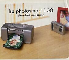HP Photosmart 100 Portable Photo Direct Inkjet Printer