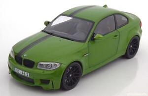 BMW 1ER M COUPE 2011 E82 GREEN MINICHAMPS 110020024 1/18 GRUN VERDE VERTE