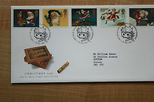 CHRITMAS 1997 Royal Mail Fdc-Fdoi 27 de octubre de 1997-Nº 857