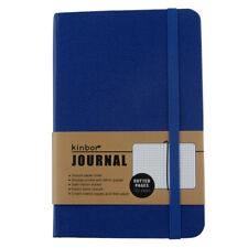 Office Memos Journal Classic Notebook Kids Diary Hard Cover Paper A5 Blue