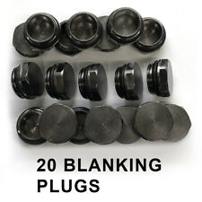 15mm Thread Round Black Blanking End Caps For Radiator Towel Rails Radiator