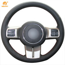DIY Steering Wheel Cover for Jeep Compass Grand Cherokee Wrangler Patriot #JP10