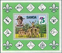 Samoa 1982 SG624 Scouts MS MNH