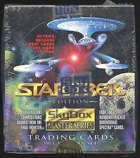 Star Trek Master Series Trading Cards. Unopened box. 36 packs.