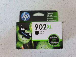 NEW Genuine HP 902XL Black Ink Cartridge T6M14AN, High Yield OEM Exp AUG 2022