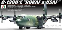 Academy 1/72 ROKAF, USAF C-130 H/E 'Hercules' Plastic Military Scale Model Kit