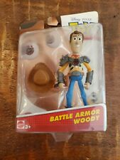 New Disney Pixar Toy Story Battle Armor Woody Package Seal Open