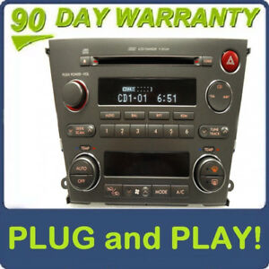 05 - 06 SUBARU Legacy Outback OEM Radio 6 Disc Changer CD Player Climate Control