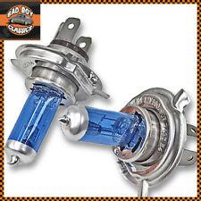 H4 100W XENON SuperWhite Halogen Car Headlight Bulbs x2
