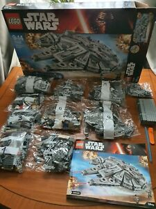 LEGO Star Wars Millennium Falcon (75105). RETIRED SET.