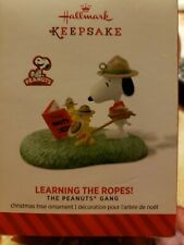 Hallmark Keepsake Christmas Ornament Peanuts Gang 2014 Learning The Ropes! NIB