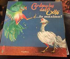 """Vintage """"cardenales del exito lo maximo la gallera"""" LP Set Vinyl Records 1987"""