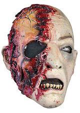Battle Merchant Zombie Maske mit Blut Monster Fasching Halloween LARP Gummimaske