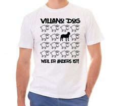 Villano Dog unisex t-shirt Black Sheep hombres perro perro motivo