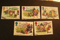 GB 1994 Commemorative Stamps~Summertime~Very Fine Used Set~UK Seller