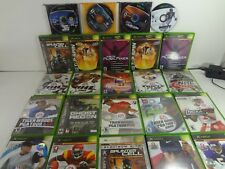 LARGE BUNDLE 30 ORIGINAL XBOX GAMES MADDEN MEDAL OF HONOR MECH ASSAULT