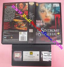 VHS film LA SINDROME DI STENDHAL 1996 Dario Asia Argento MEDUSA (F99) no dvd