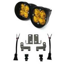 Baja Designs Amber Fog Lights Kit Pods Wide for Tacoma Tundra 4Runner Squadron