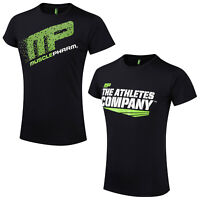 2020 Muscle Pharm Mens Tech T-Shirt Graphic Short Sleeve Technical Gym Rashguard