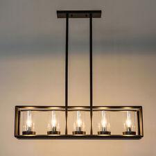 Large Chandelier Lighting Kitchen Lamp Glass Pendant Light Vintage Ceiling Light
