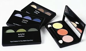 NYX Trio Eyeshadow Palette Eye Shadow Trio Combo Palette [Various Palettes]