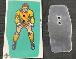 Bally World Cup Soccer 94 Pinball Goalie NOS Sticker And Backing Plastic