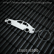 Lexus IS300 SIde Stainless Steel Keychain