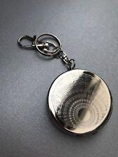 Taschenaschenbecher Schlüsselanhänger Hand Aschenbecher Metall Kreise Wellen