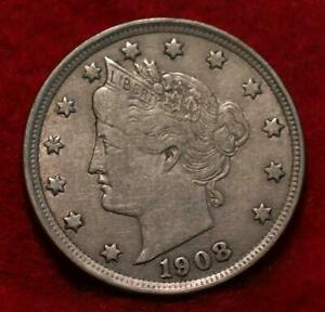 1908 Philadelphia Mint Liberty Nickel