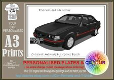 93-94 XR-8 FALCON SED A3 ORIGINAL PERSONALISED PRINT POSTER CLASSIC RETRO CAR