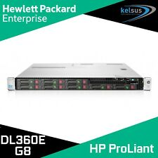 HP ProLiant DL360e Gen8 2x Hex 6-Core Intel Xeon E5 48GB RAM 1U Rack Server