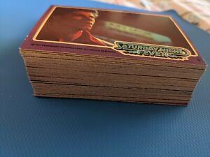 VINTAGE DONRUSS 1977 SATURDAY NIGHT FEVER COMPLETE 66 TRADING CARD SET -TRAVOLTA