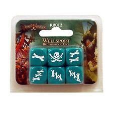 Wellsport Brotherhood Dice - Rum and Bones - D6 Dice Set