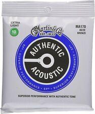 MARTIN MA170 - 80/20 Bronze Extra Light muta chitarra acustica 010-047