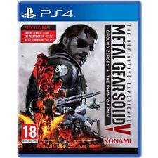 Jeux vidéo Metal Gear Solid sony PAL
