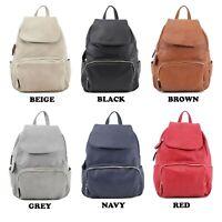 Ladies Women's Backpack Rucksack Shoulder Bag Girls College University Bag UK