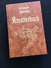 Kräuterbuch - L. Fuchs von 1543,  892 Seiten Heilkunde, Botanik, Gesundheit