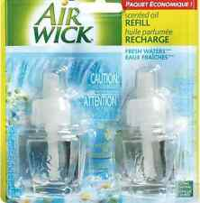 2 Refills Air Wick FRESH WATERS AirWick  oil Refill