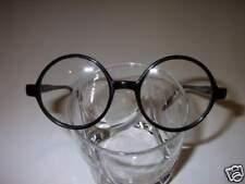Vintage Style Eyeglasses Small  Round Black