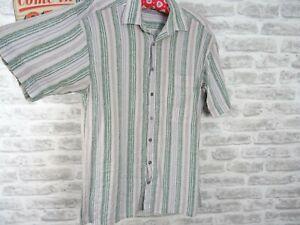 C&A Camisa casual Manga corta para hombre multicolor a