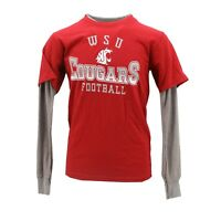 Washington State Cougars NCAA Official Youth Kids Size Long Sleeve Shirt New
