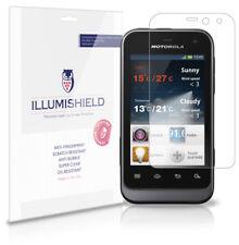 iLLumiShield Anti-Bubble/Print Screen Protector 3x for Motorola Defy Mini XT