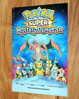 Nintendo Promo Advertising Ad Booklet Flyer Pokémon Super Mystery Dungeon 3DS