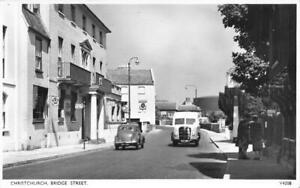 CHRISTCHURCH BRIDGE STREET 1950'S RP PUBLISHER PHOTOCHROM