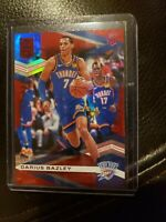 2019-20 Donruss Elite Darius Bazley (RC) 9/93 Red Aspirations THUNDER 🔥🔥🔥