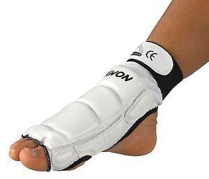 Foot Protection For Tkd ,Kickboxing,Karate,Mma Etc. From Kwon. Black US White,