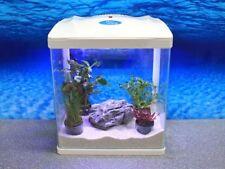 HR-320 weiß Nano Aquarium Komplettaquarium Mini Aquarium+Filteranlage