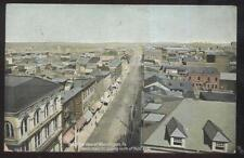 Postcard Washington Pa North Main Street Stores Bird's Eye Aerial view 1907